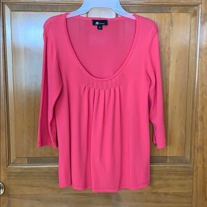 ▪️New Listing▪️ Pink Flattering Blouse